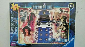 Doctor Who: Enemies 60  Piece Jigsaw Puzzle by Ravensburger (NEW and SEALED)